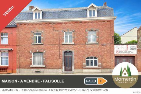Maison à rénover - Rue J.J. Merlot 29 à 5060 Falisolle