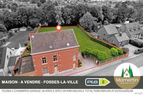 Maison de caractère - Rue des Bergeries 36 à 5070 Fosses-la-Ville