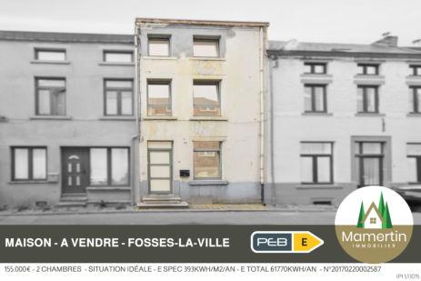 Maison au centre de Fosses-la-Ville 155.000€